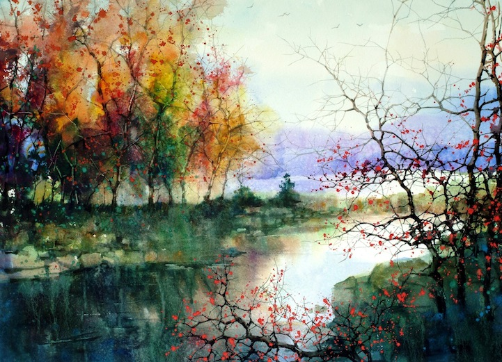 watercolor trees1