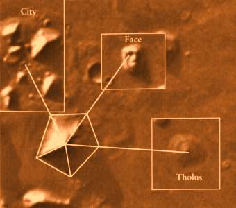 Pyramids on Mars composite dm